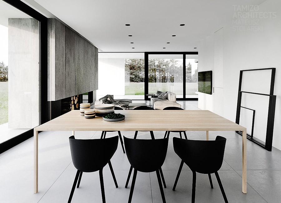 Odwracaj obrazy ty em i wieszaj puste ramki klikinterior for Interieur zwart wit grijs